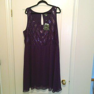 NWT, Purple party dress